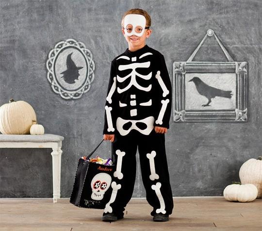 Dia de los Muertos Masks - Pottery Barn Skeleton Costume