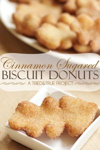 Cinnamon Sugared Biscuit Donuts - A Tried & True Project
