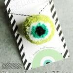 Eye Love You Halloween Gift
