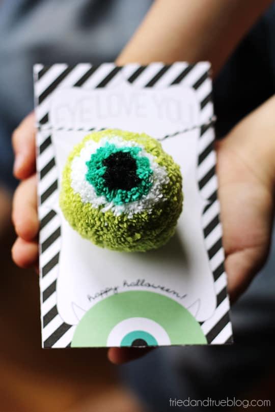 Eye Love You Halloween Gift - A Sugar Free Gift!