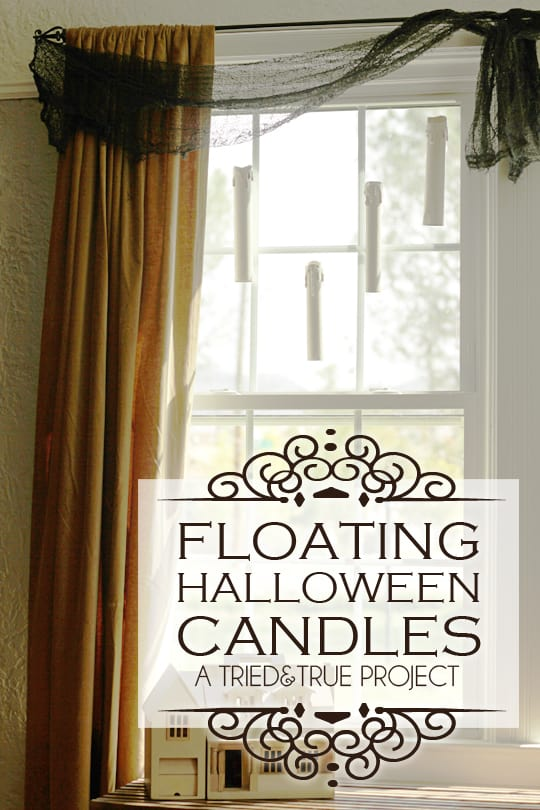 Floating Halloween Candles - A Tried & True Project