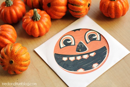 Pumpkin Carving Party - Mail in CD envelope