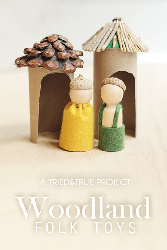 Woodland Folk Toys for Thanksgiving - A Tried & True Project
