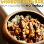 Slow Cooked Cashew Chicken with a Wonderbag