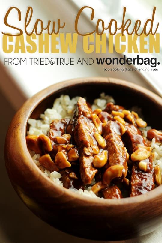Cooking Cashew Chicken In A Wonderbag - A Tried & True Recipe