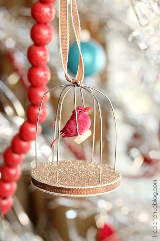 Homemade Birdcage Ornament - A Tried & True Project