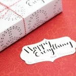 Happy Everything Gift Wrap and Tags Free Printables - Wrapping