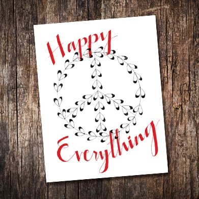 Happy Everything Gift Wrap and Tags Free Printables - Happy Everything