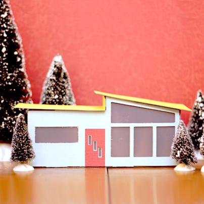 Miniature Mid-Century Modern Models - Home Sweet Home!