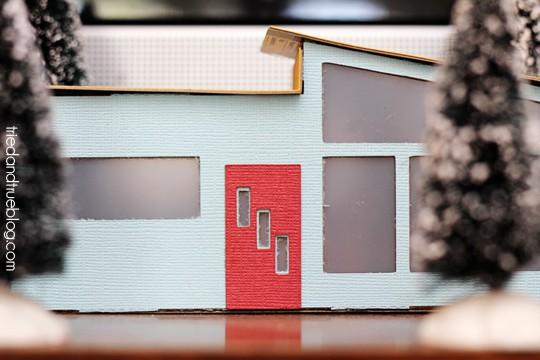 Miniature Mid-Century Modern Models - Sweet door
