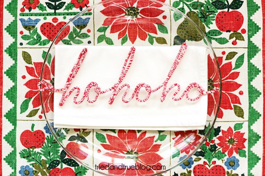 Personalized Wire Ornaments - Place Setting