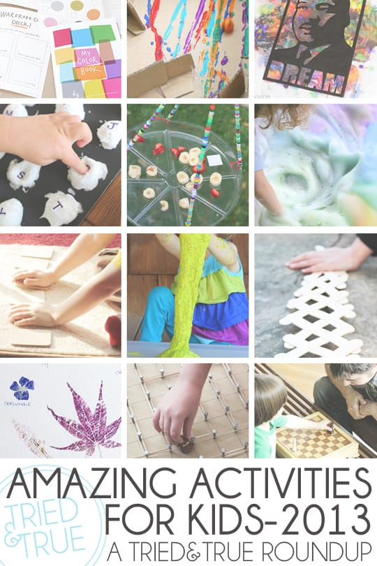 Check out these amazing activities for kids from great blogs!