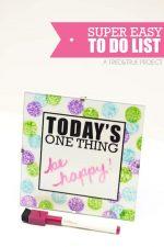 Super Easy To Do List