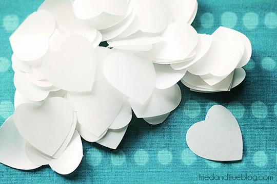 Valentine's Day Tote Bag & Printable - Hearts
