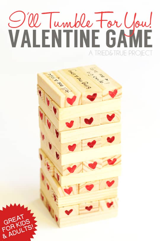 valentines day tumble game a tried true project