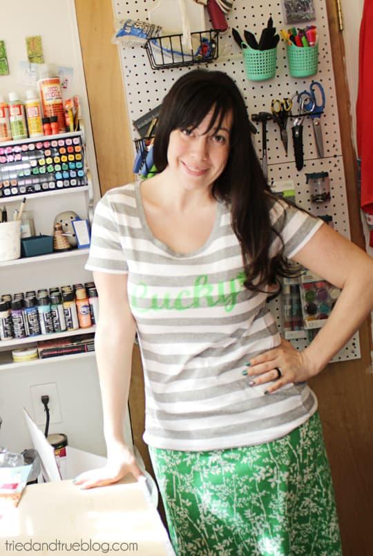 Neon Lucky T-Shirt - Love this t-shirt!