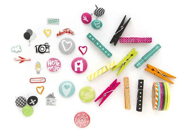 Summer To Do List - Amy Tangerine Embellishments