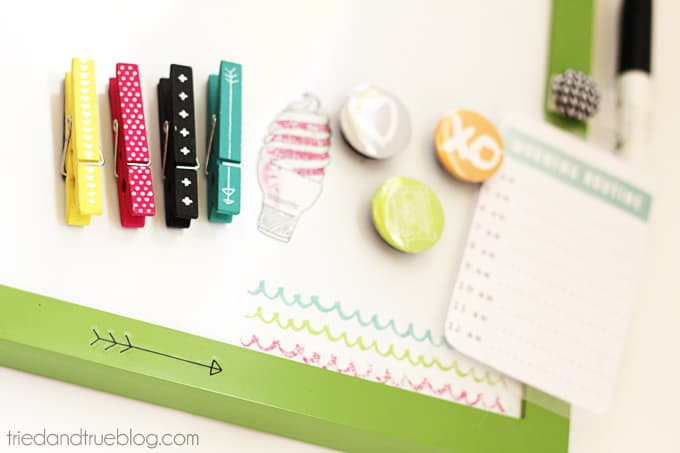 Summer To Do List - Magnetic supplies