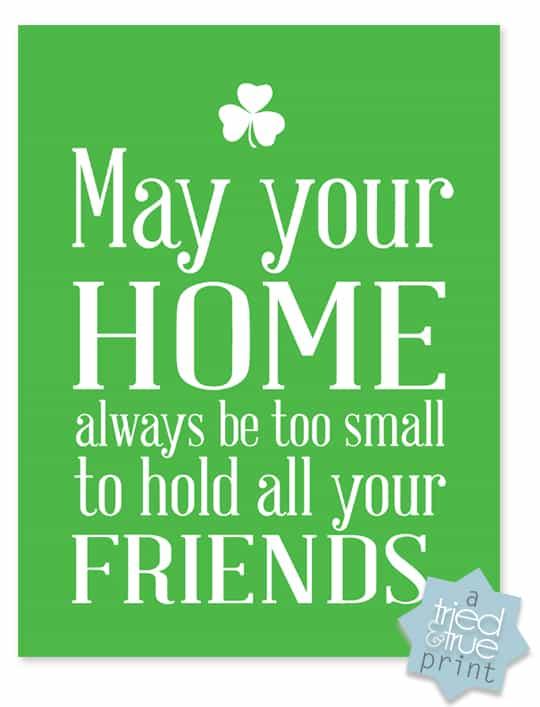 Irish Blessings - Friends