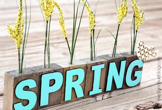 Spring Bud Vase - Waiting for Spring