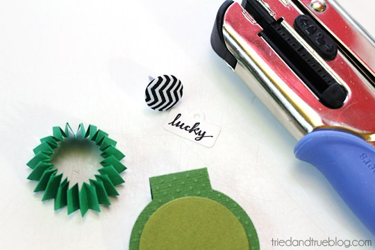 St. Paddy's Day Pinch Free Card - Lovely supplies