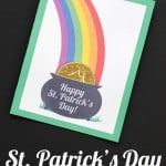 St. Patrick's Day Free Lunch Card