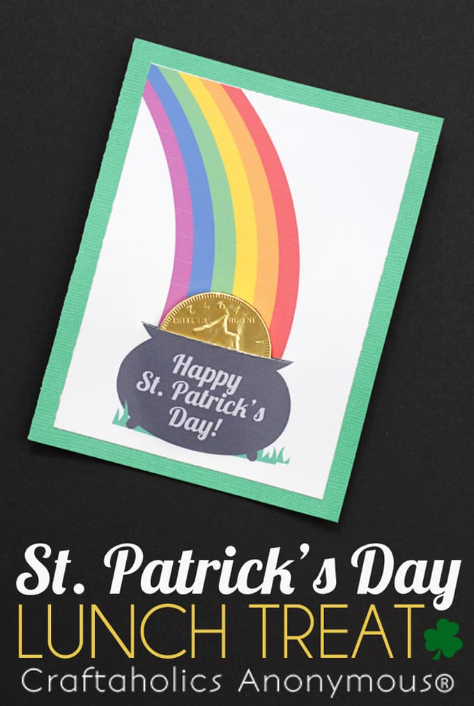 St. Parick's Day Free Lunch Treat - A Tried & True Project