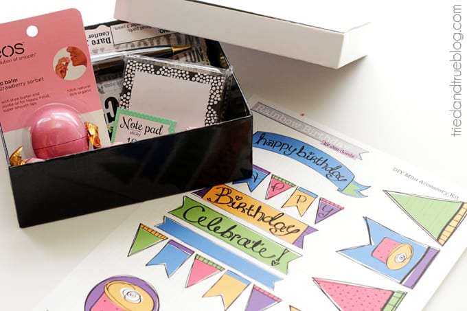 Birthday Party In A Box - Supplies