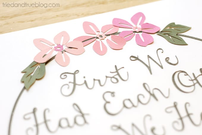 """""""Now We Have Everything"""" Nursery Art - Flowers"""