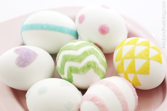 Decorating Easter Eggs with Flocking - Beautiful eggs!