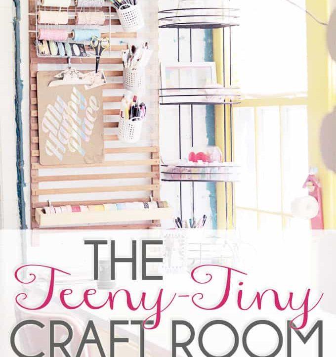 Tried & True's Teeny Tiny Craft Room Tour