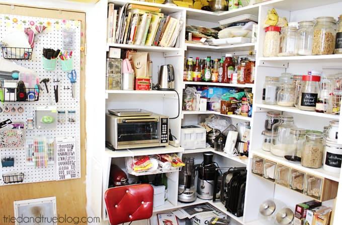Tried & True's Teeny Tiny Craft Room Tour - Pantry