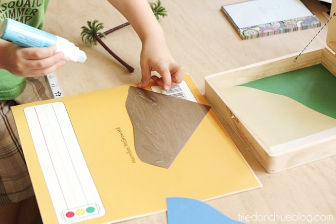 Travel Playset for Kids - Glue