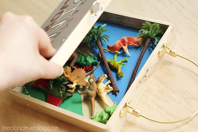 Travel Playset for Kids - Close
