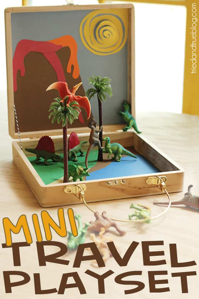 Travel Playset for Kids - A Tried & True Project