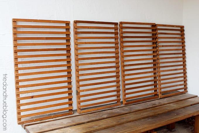 Easy Indoor Herb Garden - Cut Boards
