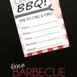 Free BBQ Invitations