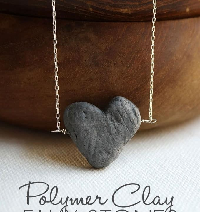 Tutorial on How to Make Faux Stones with Polymer Clay