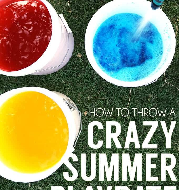 How To Throw A Crazy Summer Playdate - A Tried & True Project