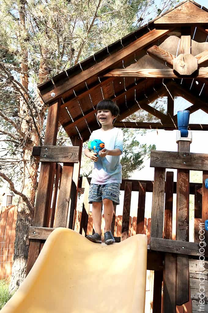 How To Throw A Crazy Summer Playdate - Safe zone