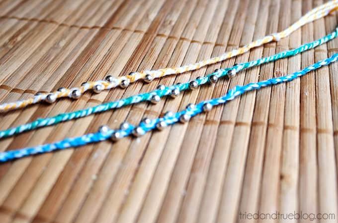 Simple Summer Bracelets - Choose your favorite color!