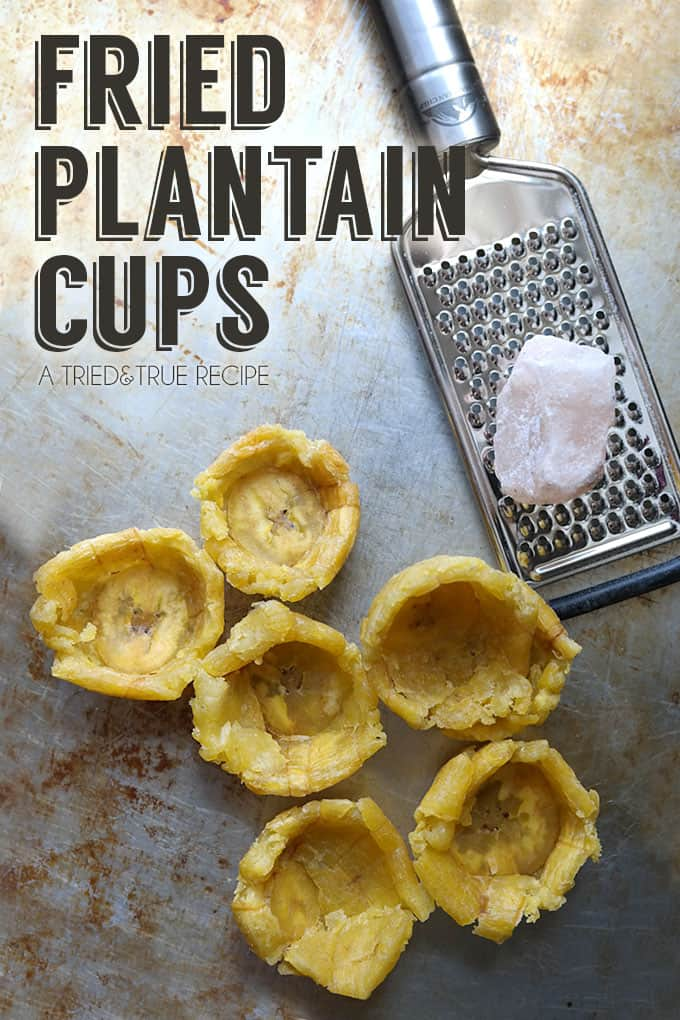 Chayote Guacamole Plantain Cups - Plantain cups