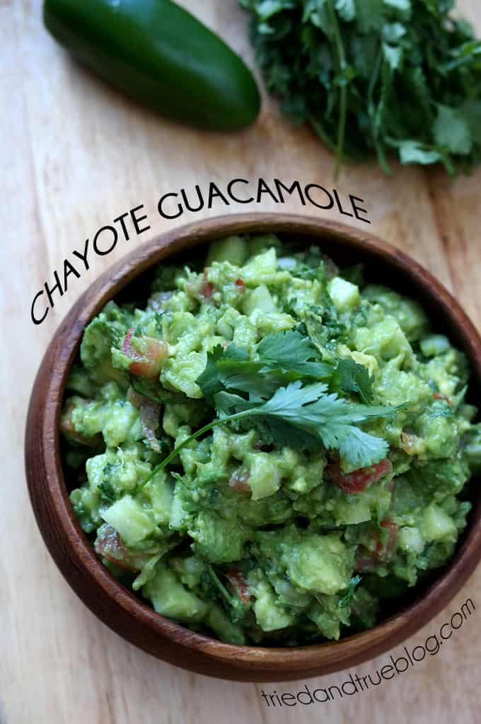Chayote Guacamole Plantain Cups - Delicous twist to guacamole