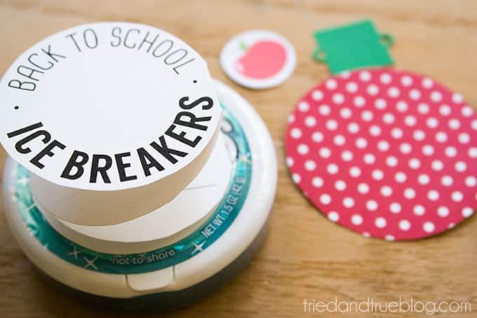 Ice Breaker Back-To-School Teacher's Gift - Supplies