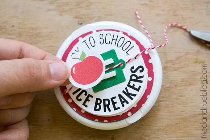 Ice Breaker Back-To-School Teacher's Gift - Final addition