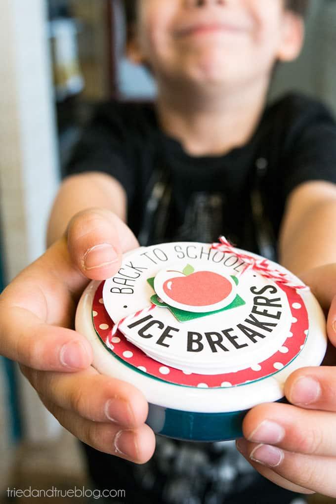 Ice Breaker Back-To-School Teacher's Gift - Ready for school!