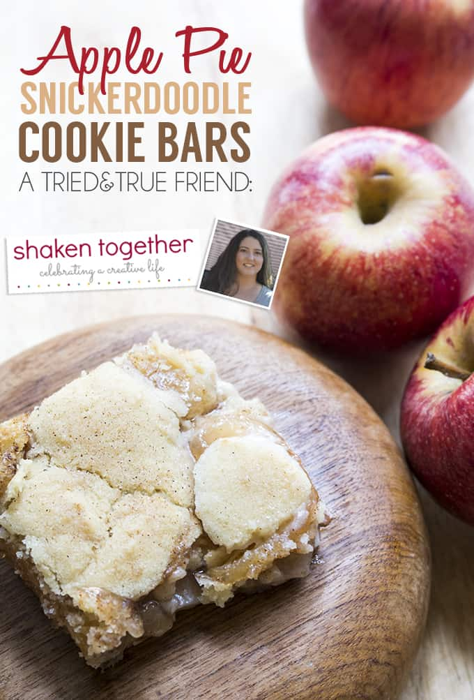 Check out this amazingly easy recipe created by Shaken Together (www.shakentogetherlife.com) and tested by Tried and True