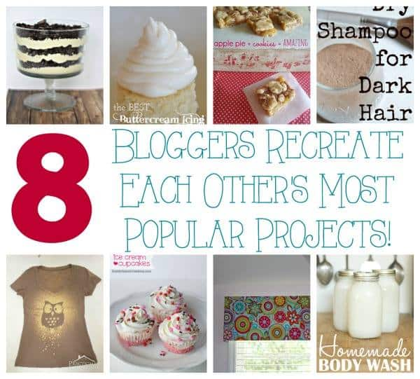 8 Bloggers Recreate Each Others Most Popular Projects