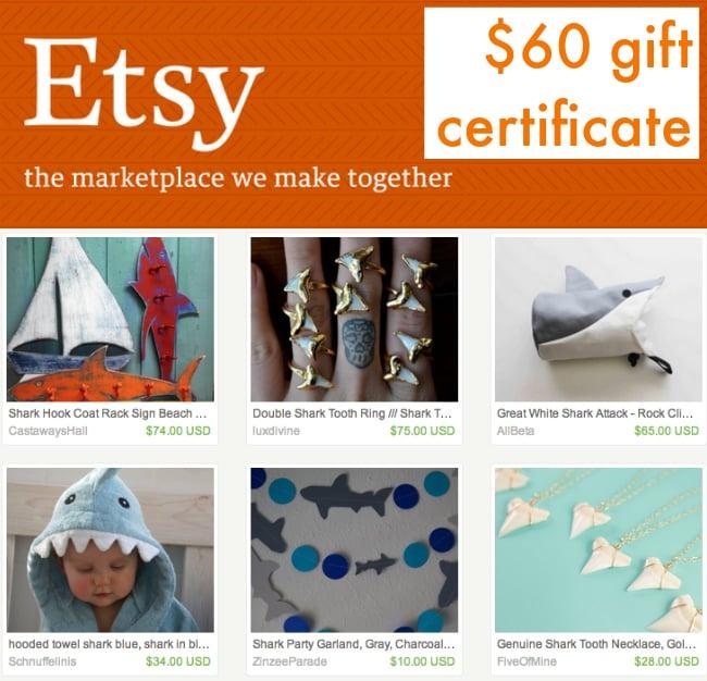 Shark Week Giveaway - Etsy