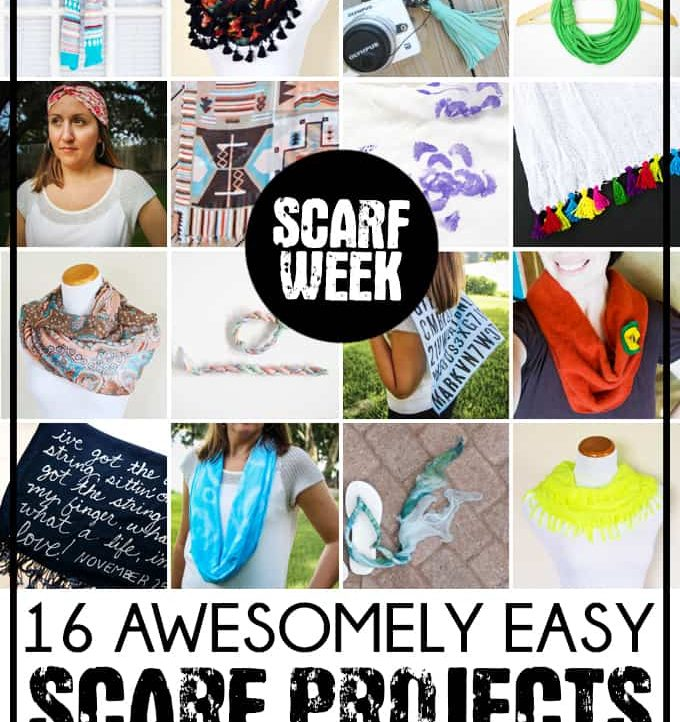 Want to update your fashion wardrobe? Check out these 16 awesomely easy scarf projects from Scarf Week!